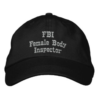 FBI Humor Hat
