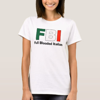 FBI Italian Ladies Spaghetti Top (Fitted)
