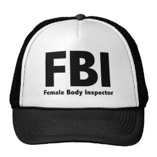 FBI Mr Funny Rude Humor Trucker Hats