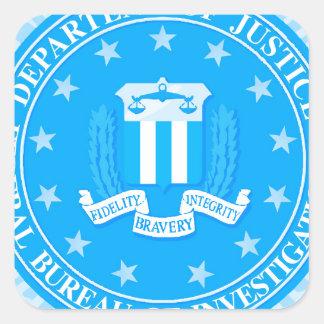 FBI Seal In Blue