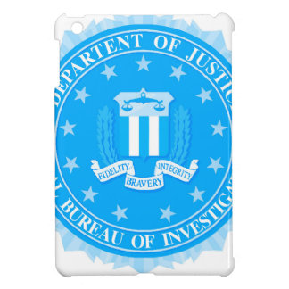 FBI Seal In Blue iPad Mini Cover