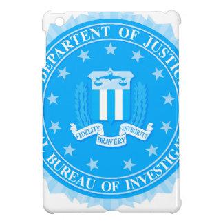 FBI Seal In Blue iPad Mini Covers