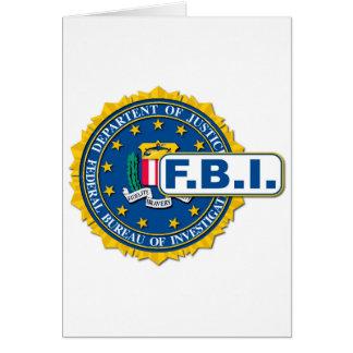 FBI Seal Mockup Card