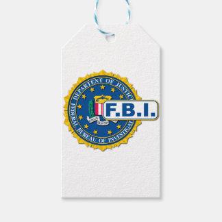 FBI Seal Mockup Gift Tags
