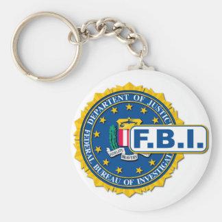 FBI Seal Mockup Key Ring