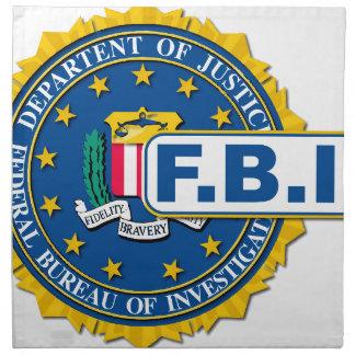 FBI Seal Mockup Napkin
