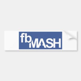 fbMash Bumper Sticker