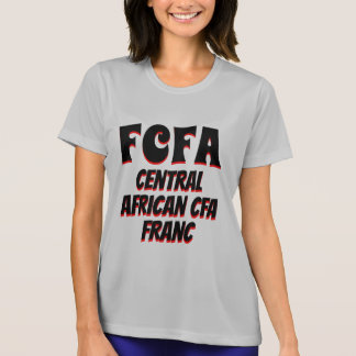 FCFA Central African CFA franc grey T-Shirt