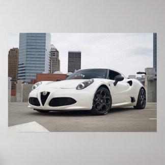 FCTC watermark-free poster - Alfa Romeo 4C