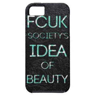 FCUK Society iPhone 5 Cover