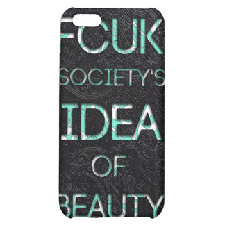 FCUK society iPhone 5C Cover
