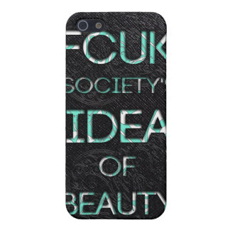 FCUK society iPhone 5 Cases