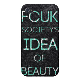 FCUK society iPhone 4 Case