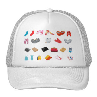 FCVPP COLORUL CLOTHING ACCESSORIES STYLES FASHION TRUCKER HATS