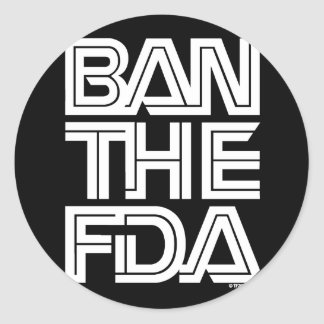 FDA CLASSIC ROUND STICKER