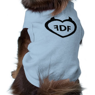 FDF Blue Puppy Tank Sleeveless Dog Shirt
