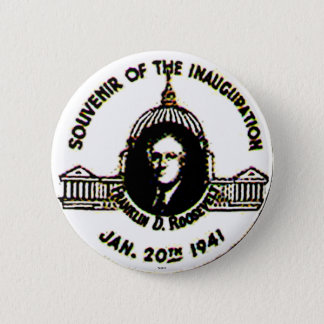 FDR-'41 Inauguration - Button