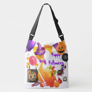 FD's Skeerie Halloweenie Cross Body Bag 53086A