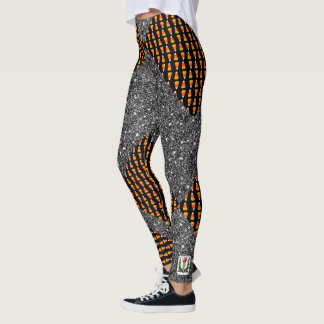 FD's Skeerie Halloweenie XS(0-2) 53086F Leggings