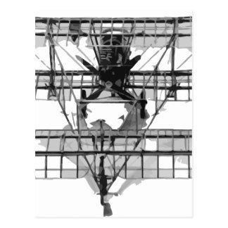 FE_2b_two_seater_biplane_model_RAE-O908 Postcard