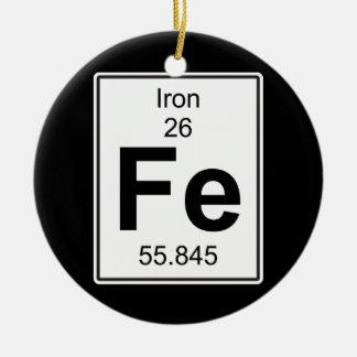 Fe - Iron Ceramic Ornament