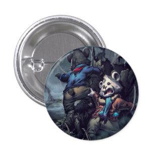 Fear 3 Cm Round Badge