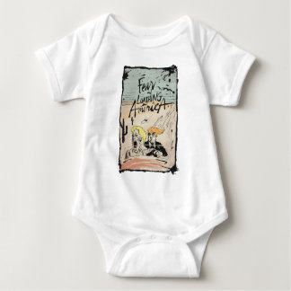 FEAR AND LOATHING IN AMERICA! TRUMP HILLARY GONZO BABY BODYSUIT