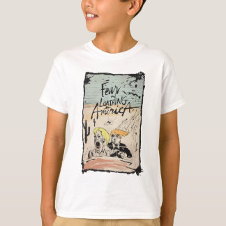 FEAR AND LOATHING IN AMERICA! TRUMP HILLARY GONZO T-Shirt