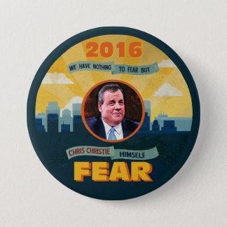 FEAR CHRISTIE 7.5 CM ROUND BADGE
