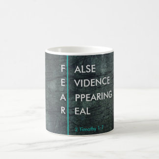 FEAR-False Evidence Appearing Real Mug