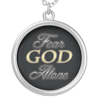 Fear God Alone Personalized Necklace