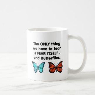 Fear Itself Butterflies Coffee Mug
