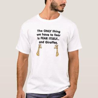 Fear Itself Giraffes T-Shirt
