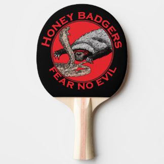Fear No Evil Honey Badger Funny Animal Red Design