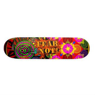 Fear Not! 20.6 Cm Skateboard Deck