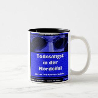 FEAR OF DEATH IN the NORTH EIFEL (Audiobook) Two-Tone Coffee Mug