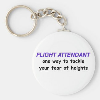 Fear of Heights Key Chain