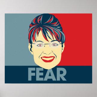 Fear Sarah Palin Poster