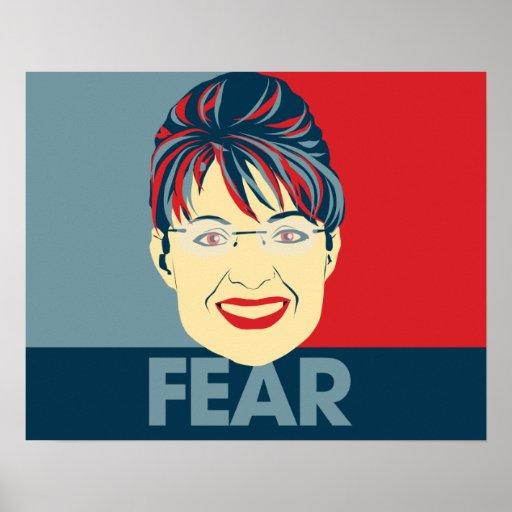 Fear Sarah Palin Print