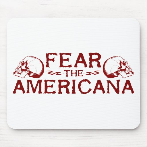Fear the Americana Mousepad