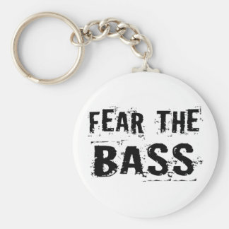 Fear the Bass Key Ring