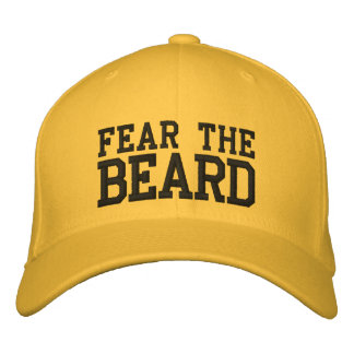 FEAR THE BEARD EMBROIDERED HAT