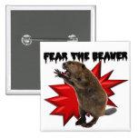 Fear the Beaver Badges
