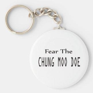 Fear the Chung Moo Doe. Keychain