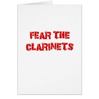 Fear the Clarinets Card