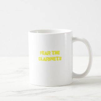 Fear the Clarinets Coffee Mug