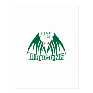 FEAR THE DRAGONS POSTCARD
