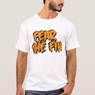Fear the Fin Logo (Orange) T-Shirt