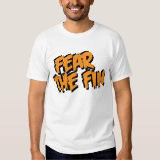 Fear the Fin Logo (Orange) Tshirt