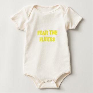 Fear the Flutes Baby Bodysuit